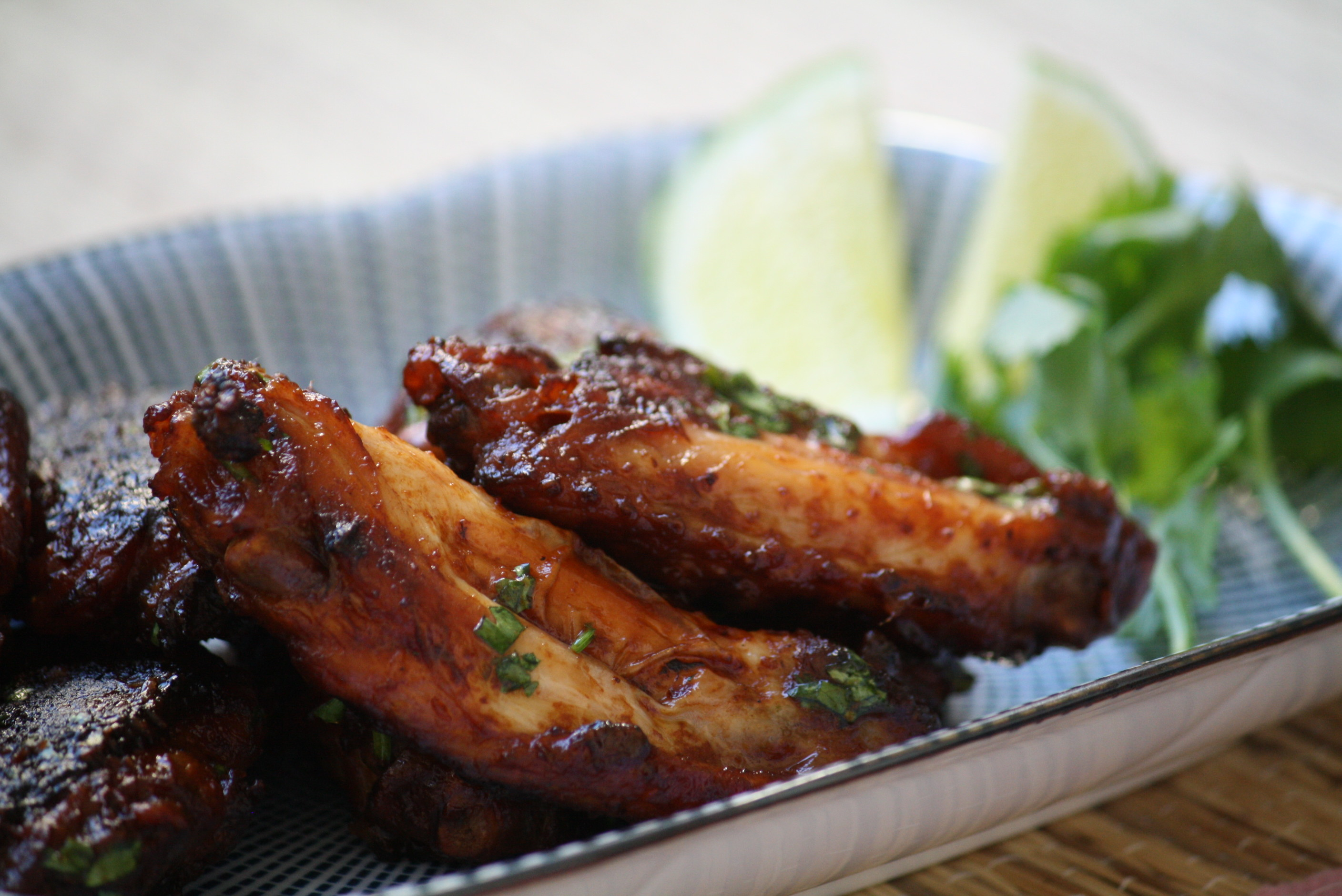 Lime Chili Wings, starring Sosu Srirachup | Mollie's Kitchen