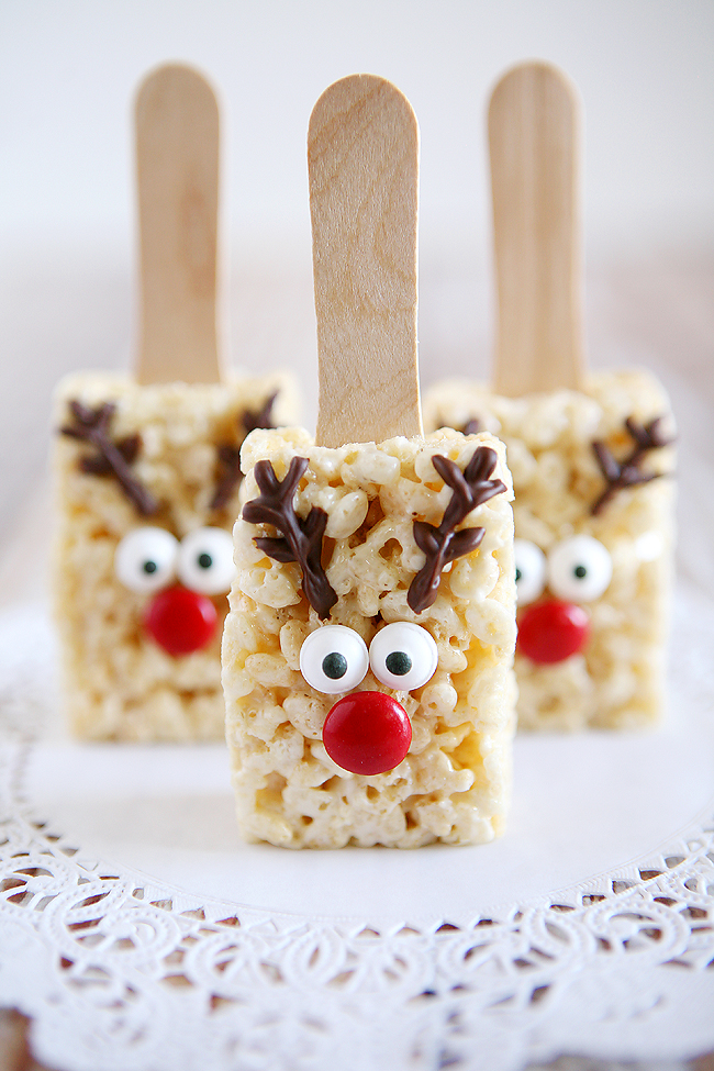1 Reindeer Rice Krispies