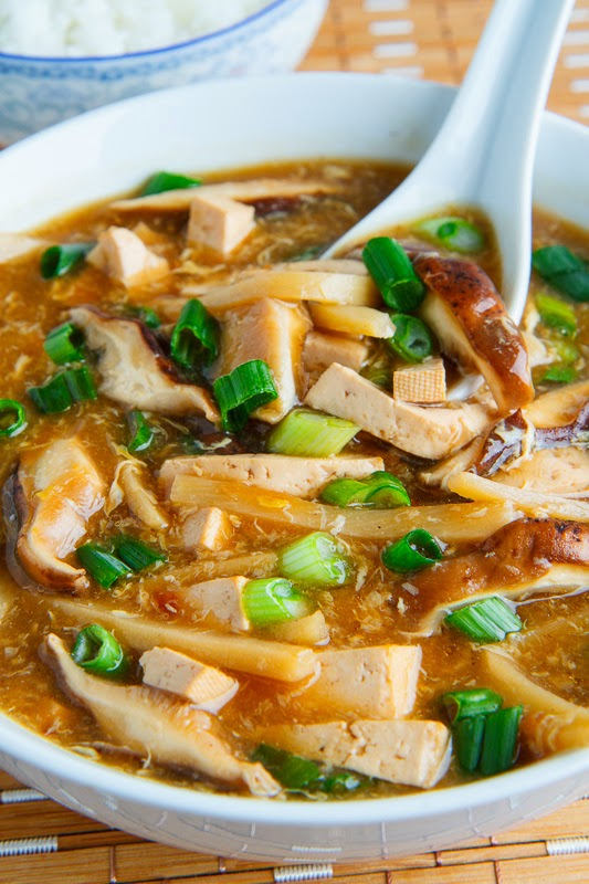 10 recipes to try for asian new year mollies kitchen 4 quick easy hot sour soup forumfinder Gallery