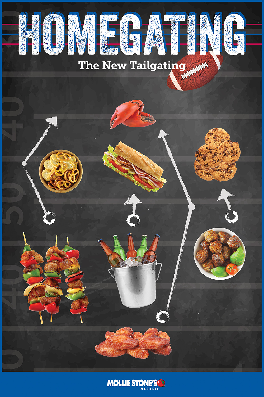 Game Day Entertaining Homegating Is The New Tailgating Mollie S